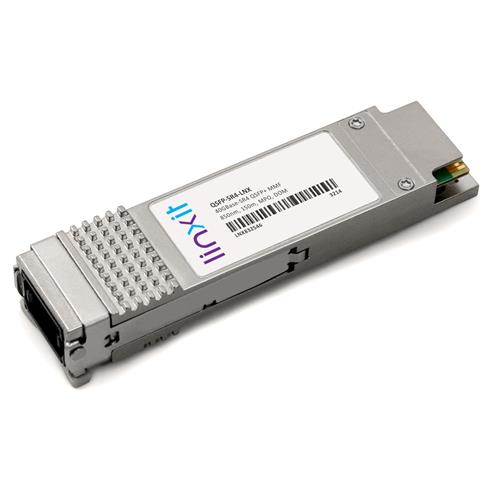 Picture of Arista Networks® QSFP-SR4 QSFP+ Compatible Transceiver 40GBase-SR4 850nm, 150m, MMF, DOM, MPO, TAA, RoHS