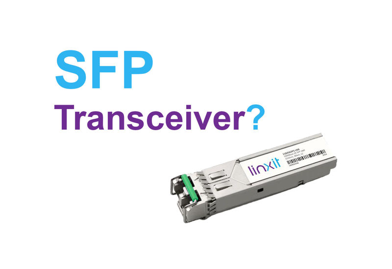 Picture for blogpost What is a SFP Transceiver?