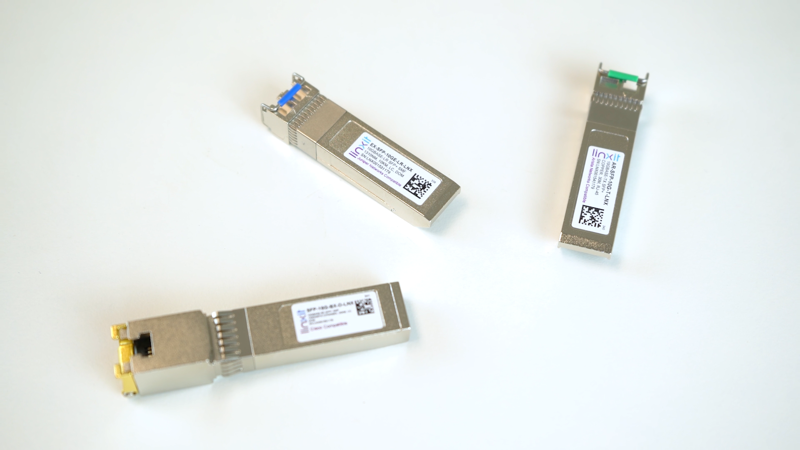 Picture for blogpost Top 3 SFP+ Transceiver Recommendations from Linxit